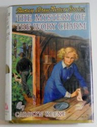 Nancy Drew 13 The Mystery of the Ivory Charm Applewood library discard