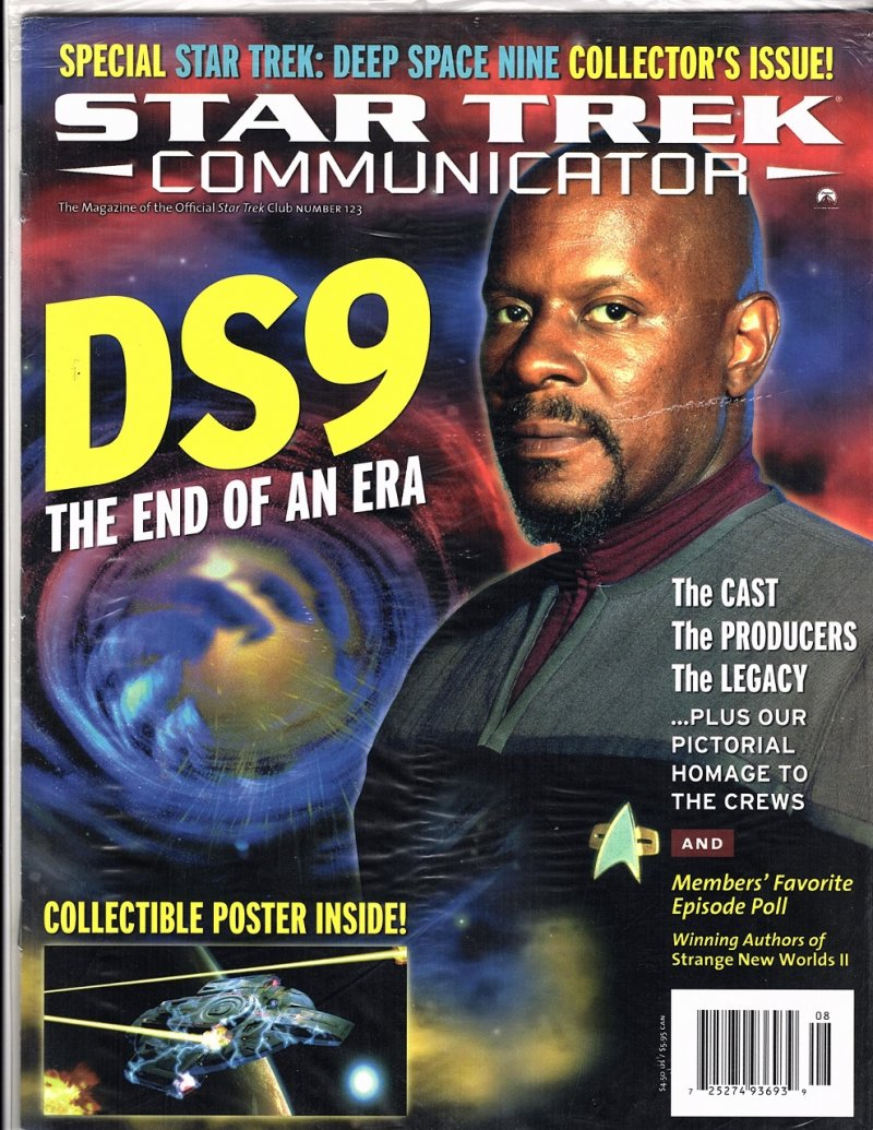 The Magazine The Official Star Trek Fan Club 1999