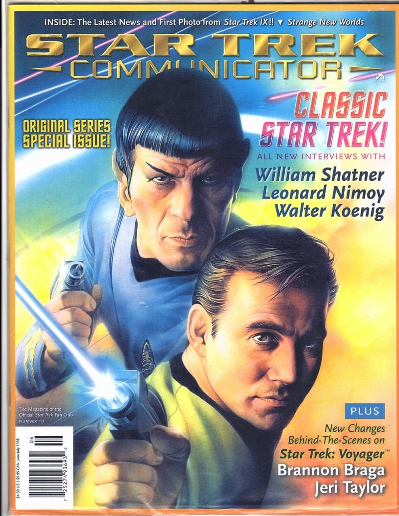 The Magazine The Official Star Trek Fan Club 1998