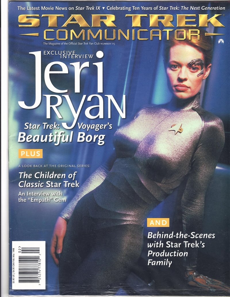 The Magazine The Official Star Trek Fan Club 1998