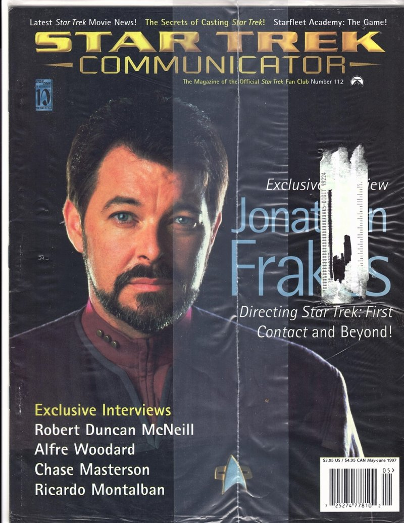 The Magazine The Official Star Trek Fan Club 1997