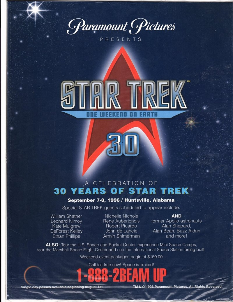 The Magazine The Official Star Trek Fan Club 30th Anniversary Issue 1996