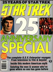Star Trek 25th Anniversary Special Collector's Edition Magazine book 1991