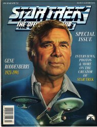 Star Trek Special Issue Gene Roddenberry The Official Fan Club Magazine