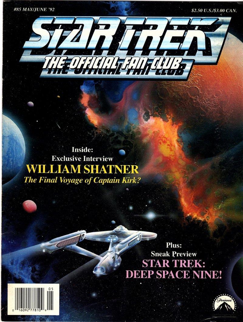 May June 1992 William Shatner Interview