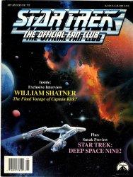 Star Trek Fan Club Magazine #85 May June 1992 William Shatner Interview