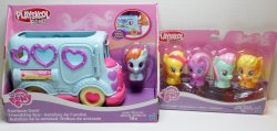 My Little Pony Playskool Rainbow Dash Friendship Bus plus 4 pk Friends