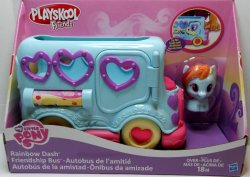 My Little Pony Playskool Rainbow Dash Friendship Bus