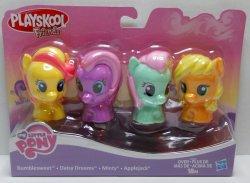 My Little Pony Playskool Friends 4 pack Daisy Dreams Minty Applejack Bumblesweet