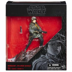 Star Wars The Black Series Jyn Erso exclusive 6 in action figure