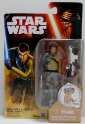 Star Wars Rebels Desert Mission Kanan Jarrus 3.75 in figure