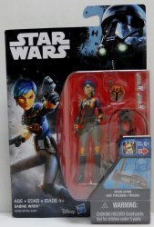 Star Wars Rebels Sabine Wren 3.75 inch action figure