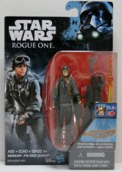 Star Wars Sergeant Jyn Erso (EASU) Rogue One 3.75 inch figure