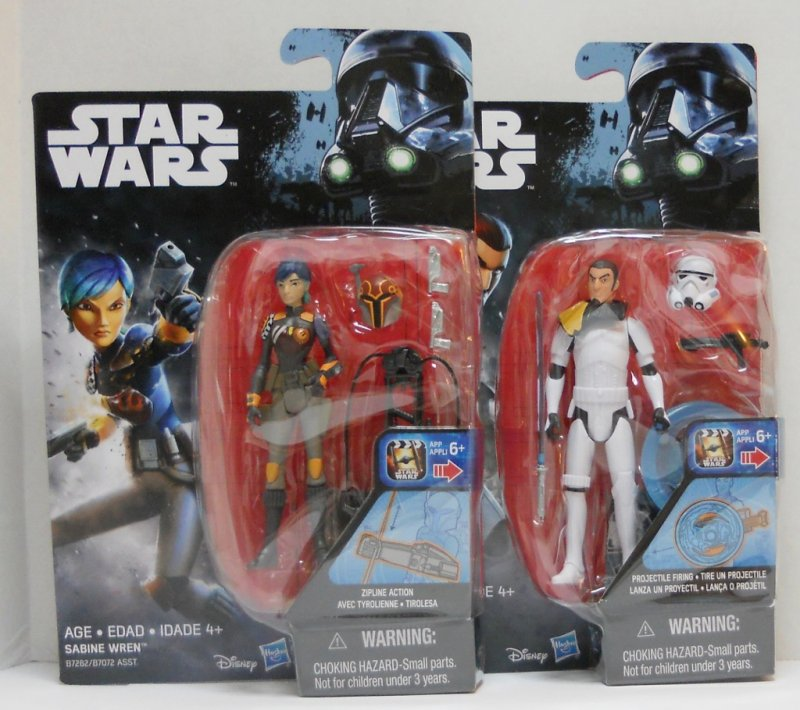 Star Wars Rebels action figures