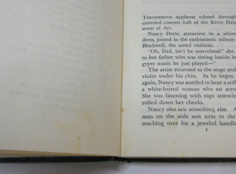 Nancy Drew #24, The Clue in the Old Album, DJ