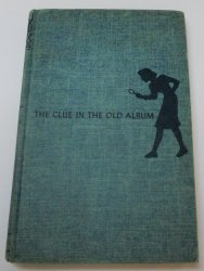Nancy Drew #24 The Clue in the Old Album OT tweed blue I EP