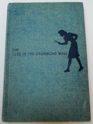 Nancy Drew #22 The Clue in the Crumbling Wall OT tweed digger EP