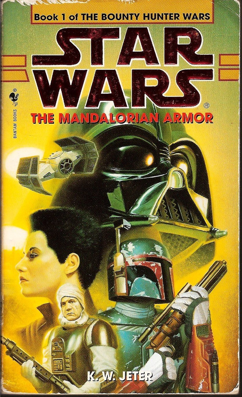 Star Wars Book 1 The Mandalorian Armor by KW Jeter