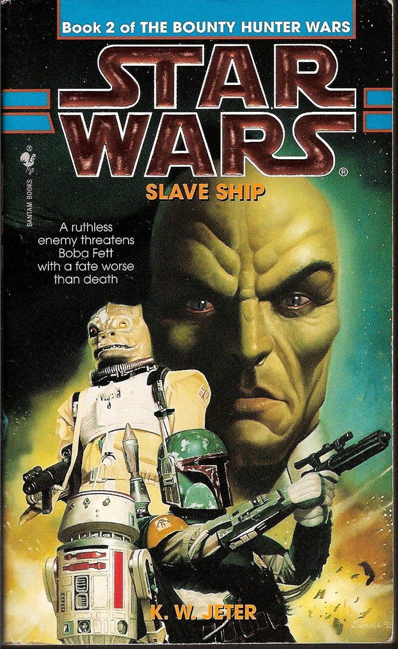 Star Wars Book 2 Slave Ship by KW Jeter
