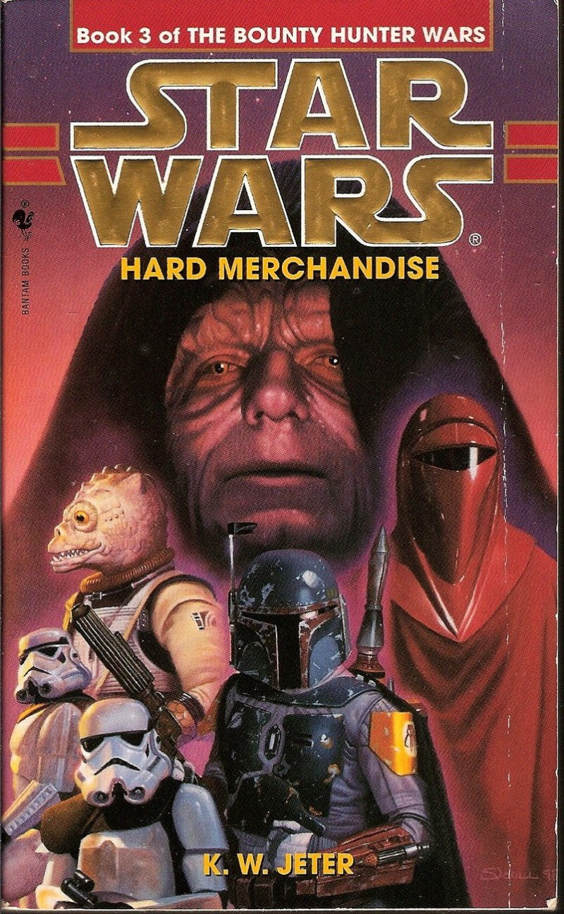 Star Wars Book 3 Hard Merchandise by KW Jeter