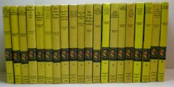 Nancy Drew Mysteries #1-20 yellow spine matte PC Carolyn Keene