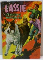 Lassie The Mystery of Bristlecone Pine Whitman Children's Classics