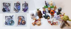 Star Wars Fast Food toy lot McDonalds and Burger King