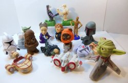 '.Star Wars Fast Food toy.'