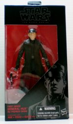 Star Wars Black Series First Order General Hux 6 in action figure