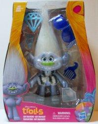 Trolls Guy Diamond Dreamworks 9 inch glitter figure