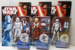 Star Wars Snow Mission Stormtrooper, Snowtrooper, Asty 3 figure lot
