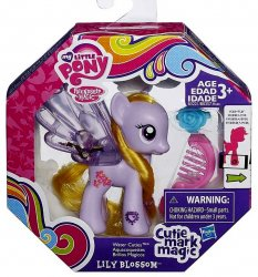 My Little Pony Water Cuties Lily Blossom Cutie Mark Magic