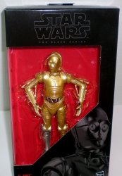 Star Wars Black Series C-3P0 Silver Leg Exclusive 2016 6 Figure