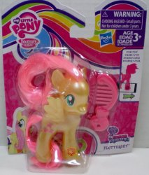My Little Pony Pearlised Fluttershy Explore Equestria single figure