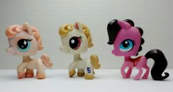 Littlest Pet Shop Horse #592, 1777 and 3292 lot of 3 ponies