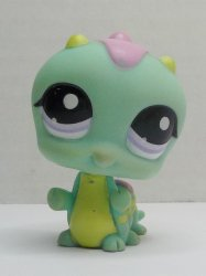 Littlest Pet Shop Inchworm 1811 loose pet