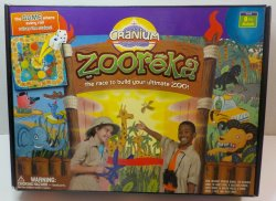 Zooreka Cranium Board game Build ultimate Zoo 2006