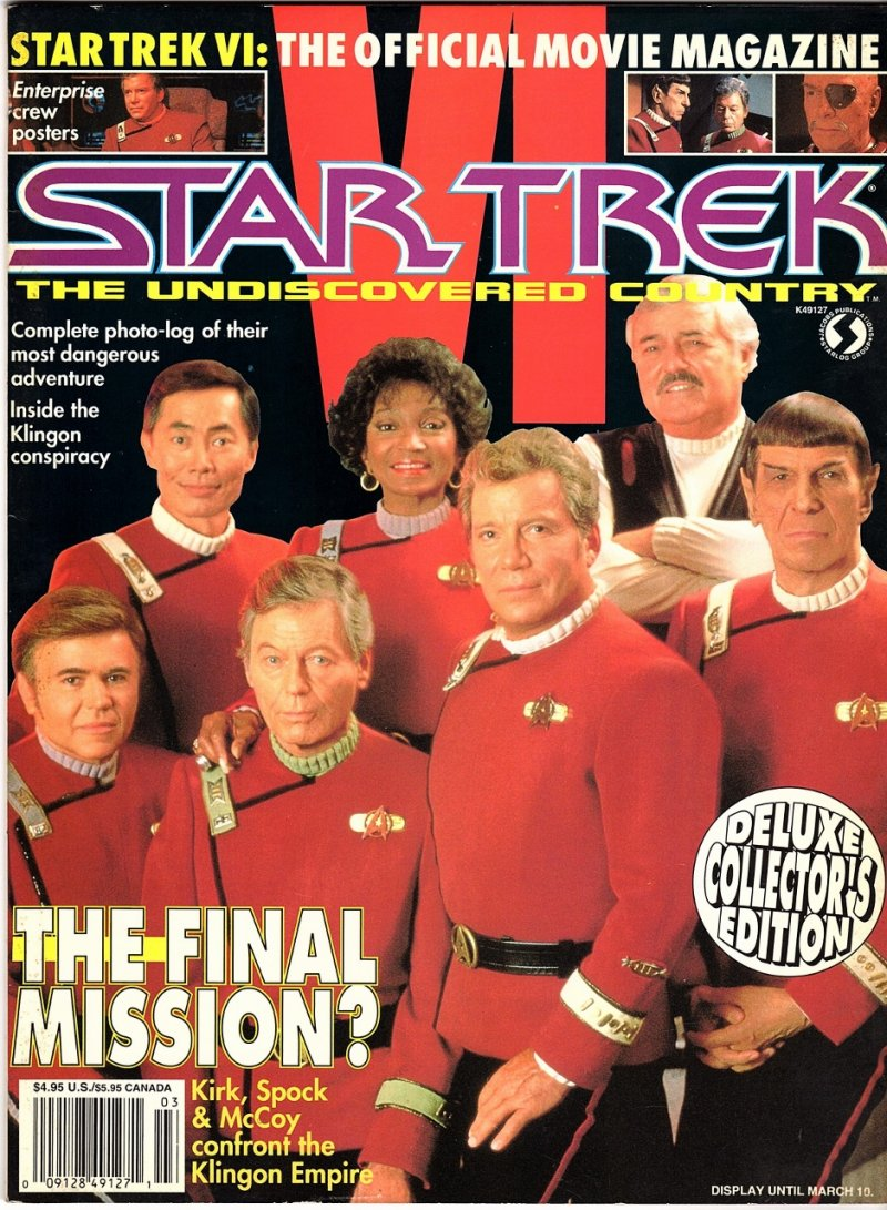 Starlog Souvenir Magazine 1991