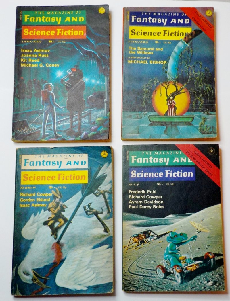 The Magazine of Fantasy and Science Fiction 1976