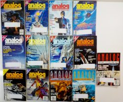 Analog Science Fiction and Fact Magazines lot of 20 1978-1993 back issues