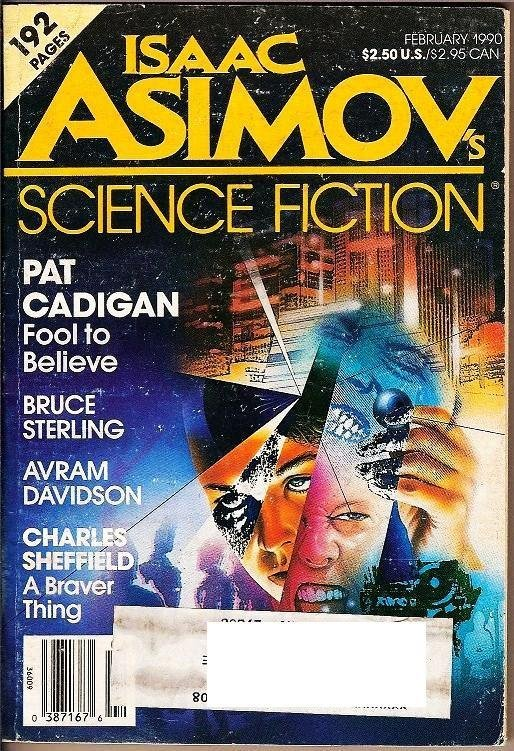 Isaac Asimov's Science Fiction Magazines Feb 1990