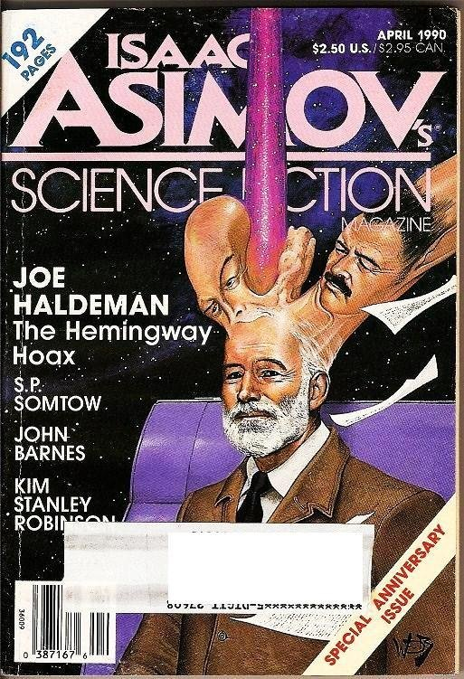Isaac Asimov's Science Fiction Magazines Apr 1990