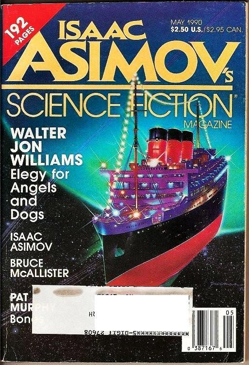 Isaac Asimov's Science Fiction Magazines lot May 1990