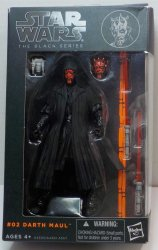 Star Wars Darth Maul The Black Series #02 action figure 6 inch