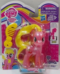 My Little Pony Pearlized translucent Cherry Berry Explore Equestria