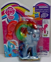 My Little Pony Pearlized translucent Rainbow Dash Explore Equestria