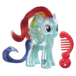 My Little Pony Pearlized translucent Rainbow Dash Explore Equestria