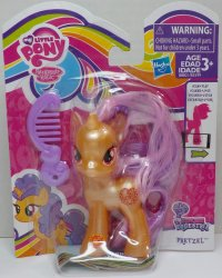 My Little Pony Pearlized translucent Pretzel Explore Equestria