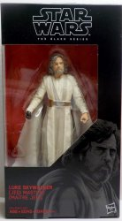 Star Wars Black Series Luke Skywalker Jedi Master 6in action figure