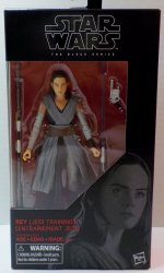 Star Wars Black Series Rey Jedi Training 6in action figure